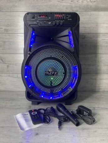 акустика колонка блютус zpx 160w Bluetooth портативная
