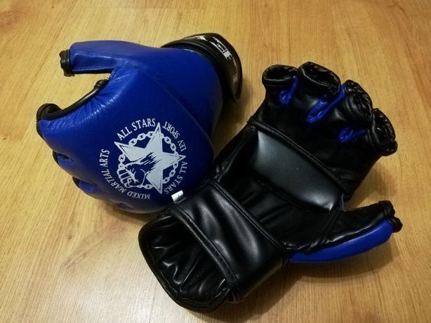 Кожаные перчатки для ММА Lev Sport