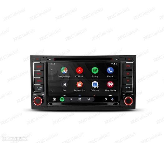 "AUTO RÁDIO 7"" ANDROID 10.0 OCTA-CORE MULTIMEDIA DVD GPS VW TOUAREG MULTIVAN TRANSPORTER"