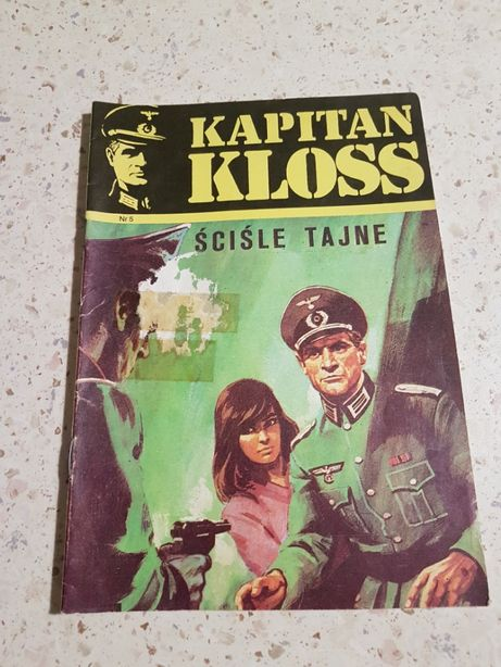 Komiks Kapitan Kloss nr 5 Ściśle tajne