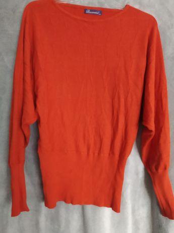 Bluzka sweterkowa pomarańcz