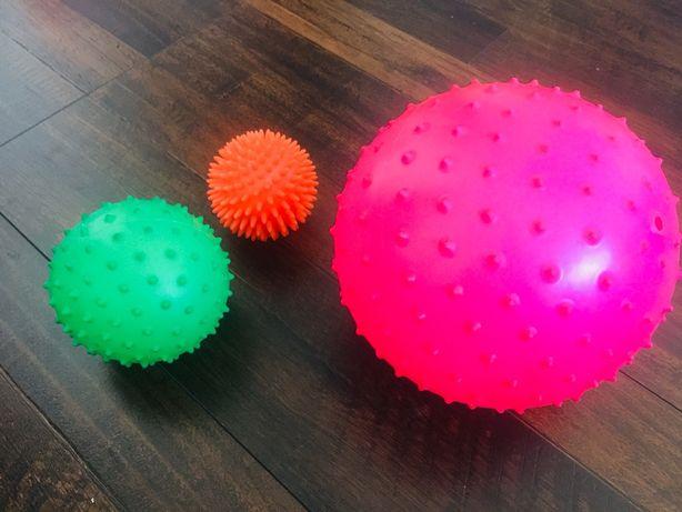 Медицинский массажный мяч Альпина Пласт Иглбол для новорожденных