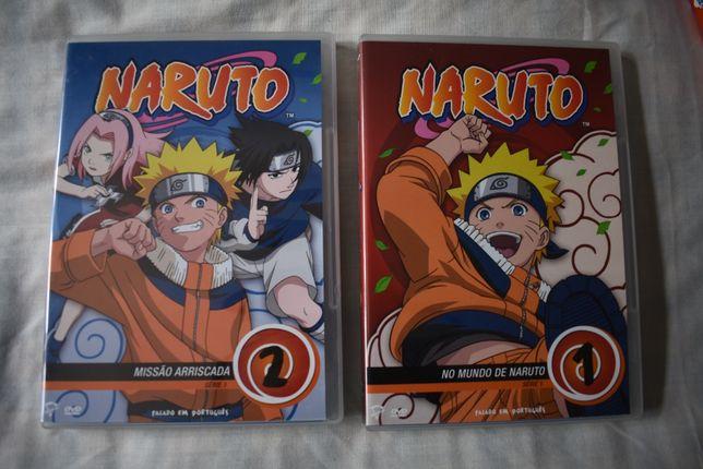 Naruto - Temporada 1 (DVD's)
