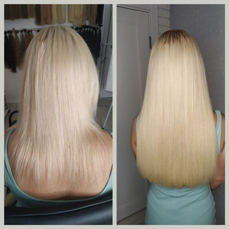 Акция!!!Наращивание волос скрытая техника
