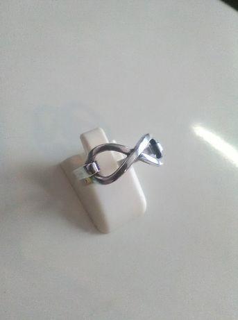 pierścionek srebrny nieskończoność pr925
