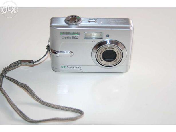 Máquina Fotográfica Pentax Optio 50L