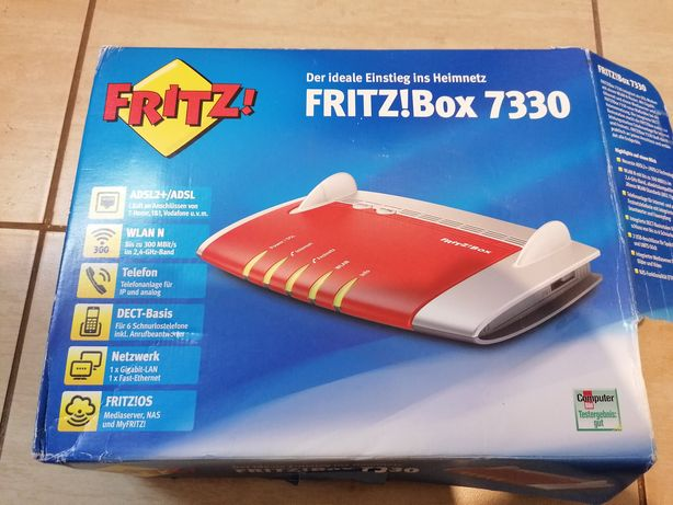Fritz!Box 7330 nowy Rezerwacja