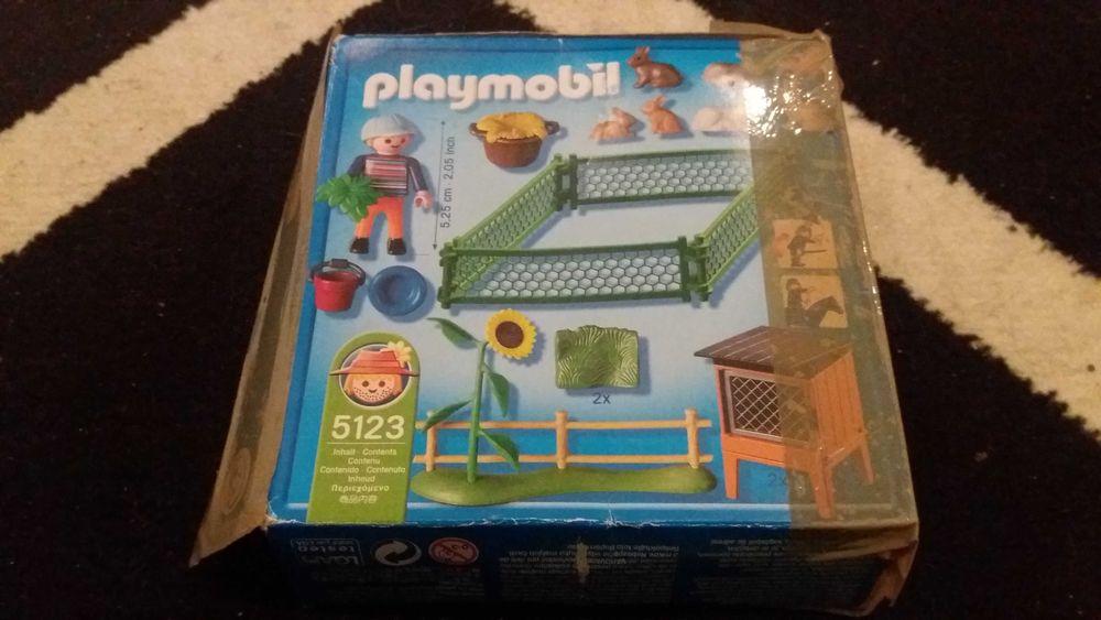 Playmobil 5123 zagroda dla królików chodowla Szubin - image 1