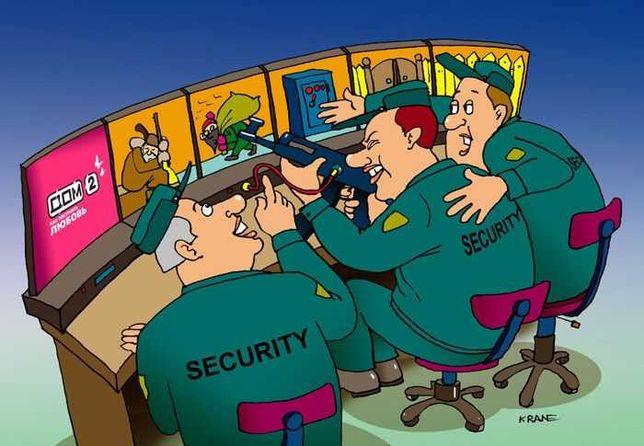 Видеонаблюдение, охранные системы.