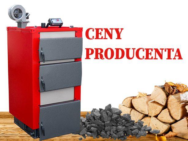 Ekologiczny Kocioł na drewno/węgiel Piec 16kW do 120m2 DARMOWA dostawa