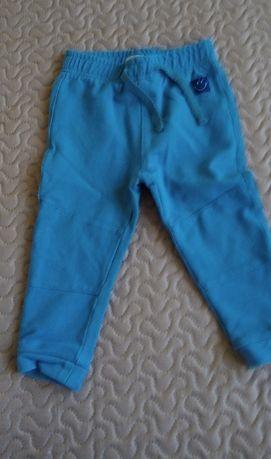 spodnie dresowe 80 86 zestaw 5 szt