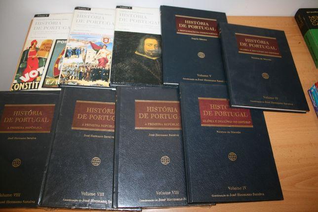 Livros: História de Portugal - Coordenação José Hermano Saraiva