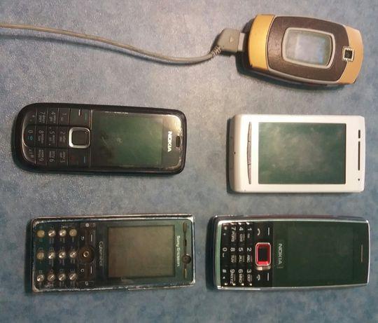 Телефоны на запчасти.Комплект.