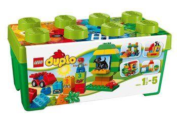 Klocki lego doplo zestsw podstswowy w skrzyni