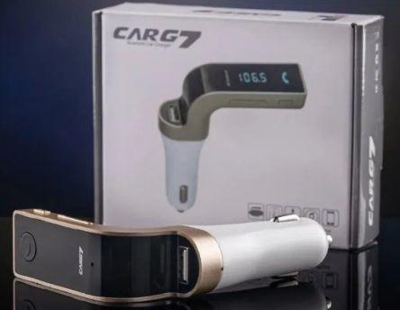 Автомобильный модулятор FM Car G7 с вluetooth USB трансмиттер