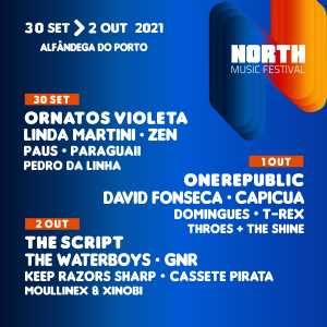 4 Bilhetes North Festival Dia 2 de Outubro