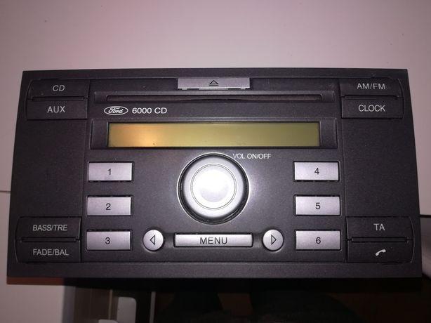 Radio 6000CD sprawne z kodem