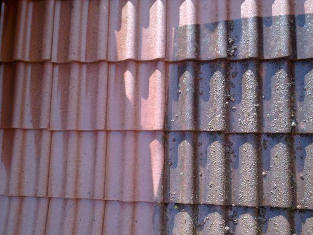 Czyszczenie, malowanie elewacji, dachów, kostki brukowej