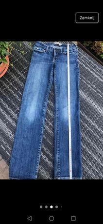 Abercrombie dżinsy model Maddy r. 140