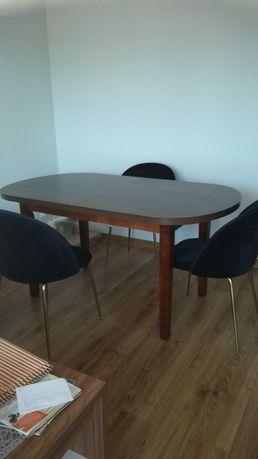 Stół duży drewniany rozkładany