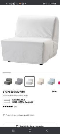 Sofa / fotel rozkładany Ikea