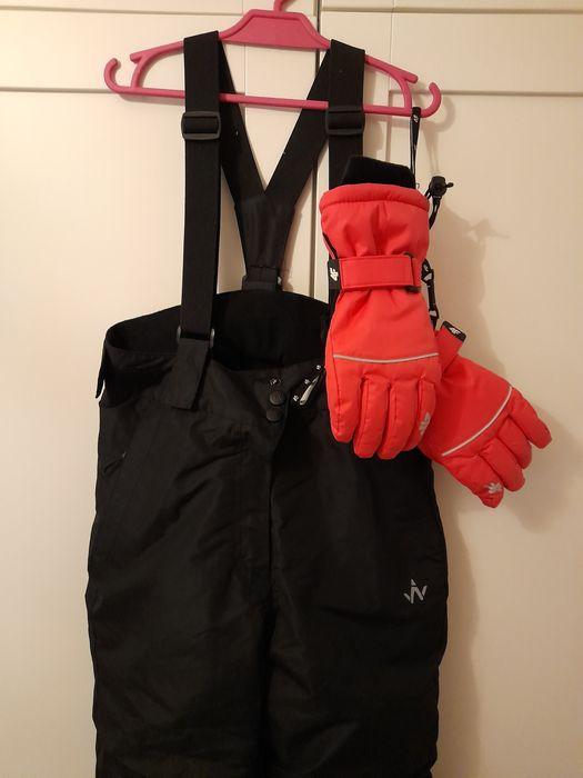 Spodnie narciarskie Wanabee + rekawice różowe  4f rozm. 140 Kielce - image 1
