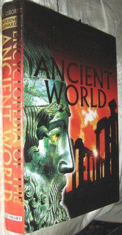 Детская книга энциклопедия на английском The Usborne Ancient World