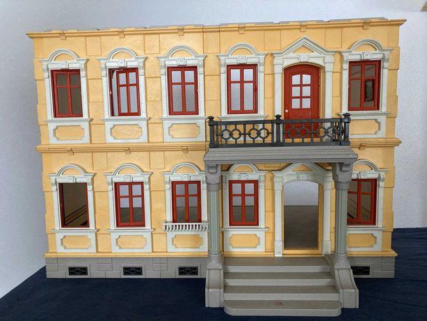 playmobil, casa vitoriana, conforme fotos. sempre guardada. 80€
