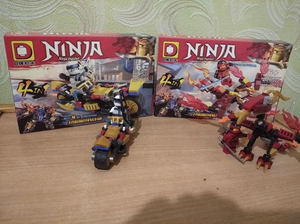 Лего Ниндзяго. Дракон Кая и байк Зейна