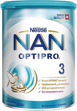 Нан 3 молочная смесь, nan 3 optipro