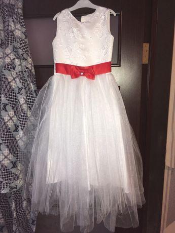 Платье снежинки, нарядное пышное платье