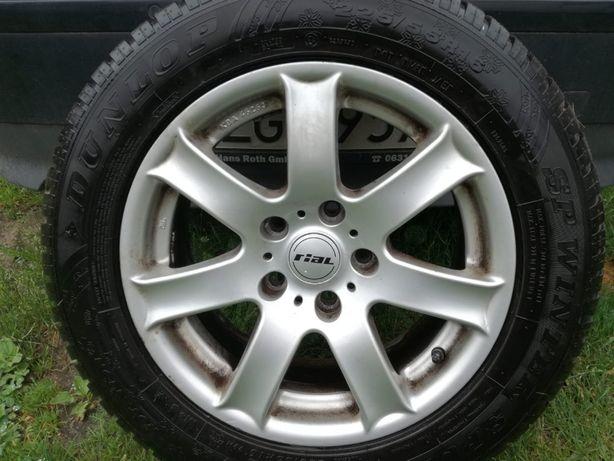 Felgi Aluminiowe Rial 16 cali + opony zimowe Dunlop