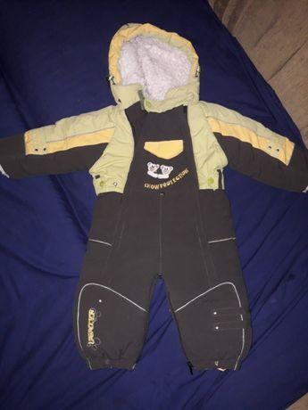 зимний комбинезон детская одежда для детей
