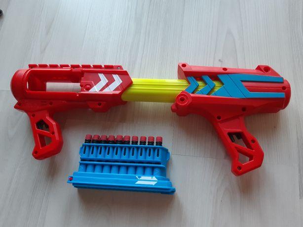 Pistolet Nerf duży czerwony