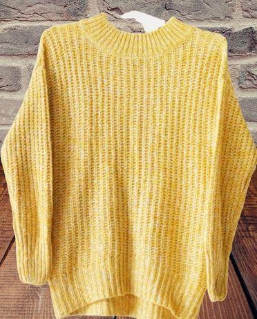 Sweter miodowy rozmiar XS tylko 20zl