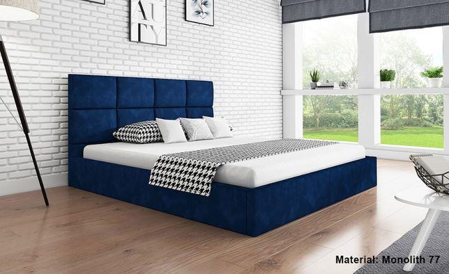 Łóżko DORA 120x200 tapicerowane różne kolory i wymiary stelaż pojemnik
