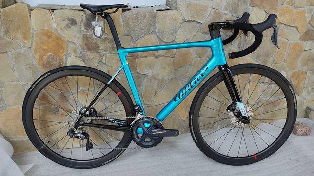 Карбоновый шоссейный велосипед Wilier Zero SLR Ultegra Di2 Powermetr