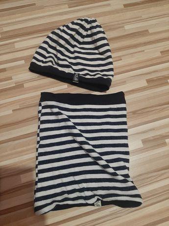 Komplet czapka plus komin z Reserved 5-8 lat 54 cm