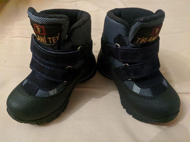 Дитяче термо-взуття на хлопчика 23розмір