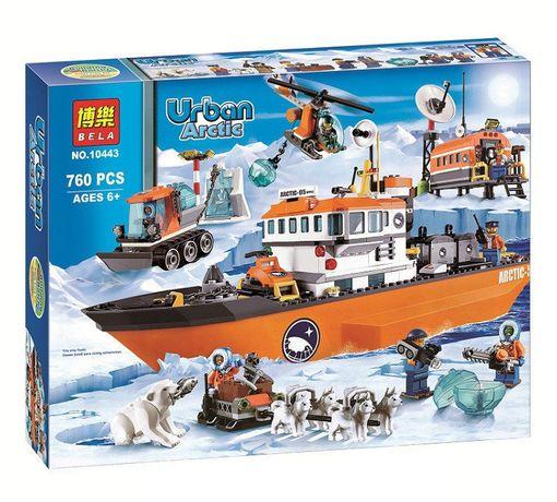 """Конструктор Bela 10443 Lego City 60062 """"Арктический ледокол"""" Лего"""