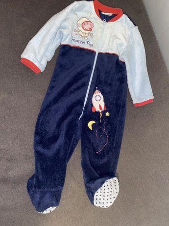 Кигуруми пижама, комбез плющевый George Peppa pig TU 92-98