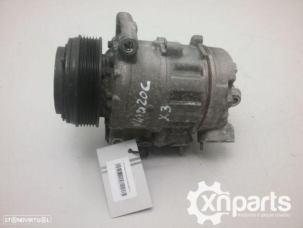 Compressor de ar condicionado BMW X3 (F25) xDrive 20 d 09.10 -  Usado REF. MOTOR...