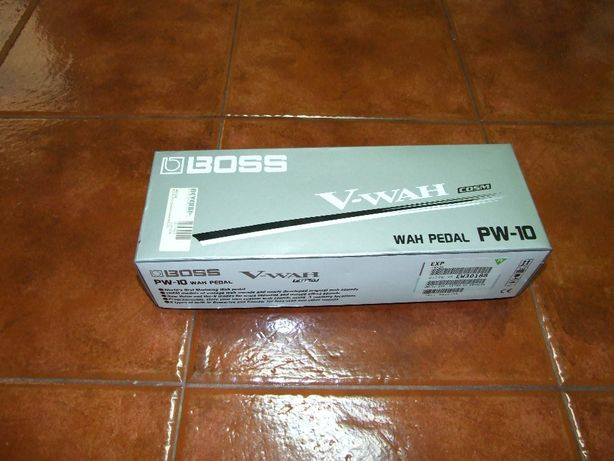 Pedal Wah Boss PW10