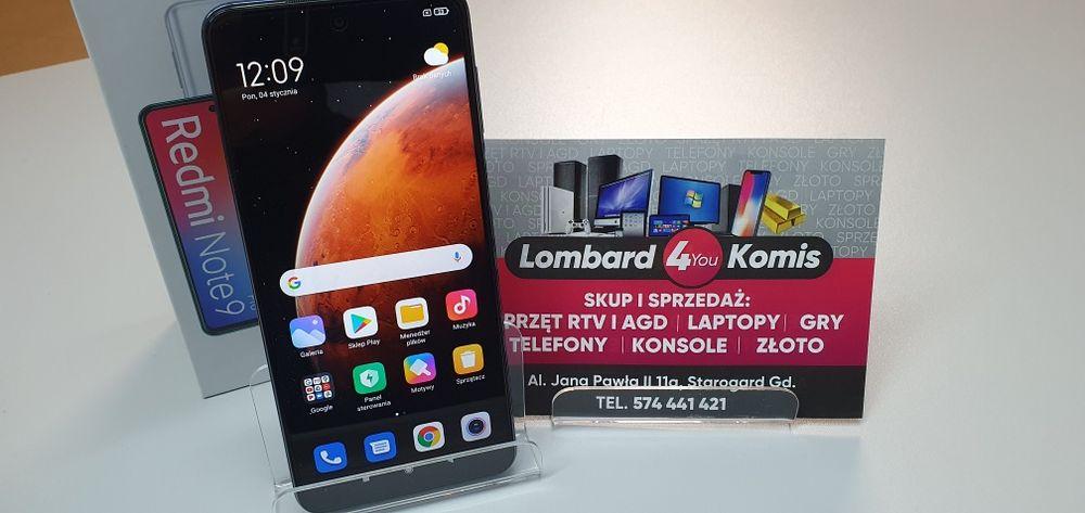 Redmi Note 9 Pro Interstaller Grey Starogard Gdański - image 1
