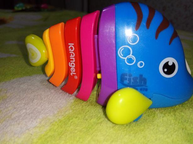 Новинка! Инерционная игрушка - Рыбка!