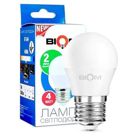 Светодиодная LED лампа 4Вт. мощность .