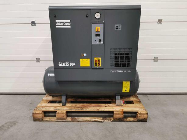 Sprężarka śrubowa 5.5kw ATLAS COPCO kompresor 800l/min 10bar OSUSZACZZ