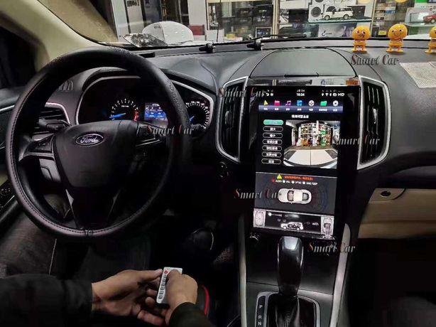 Головное Устройство магнитола Тесла стиль Ford Edge Tesla style