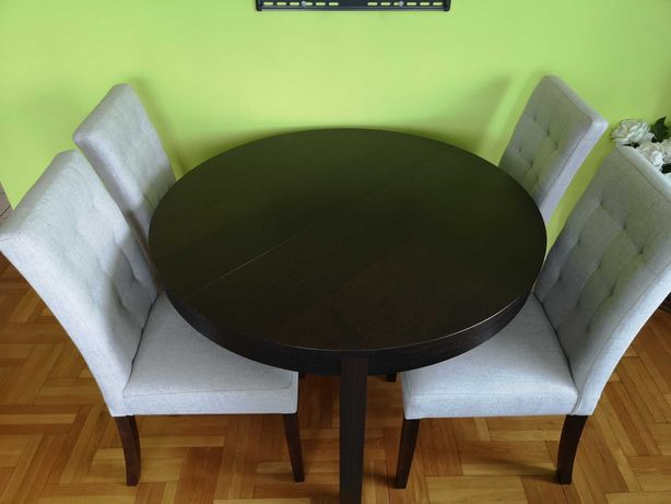 4 krzesła Agata Meble do salonu jadalni kuchni jak nowe