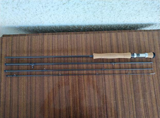 Conjunto Pesca Pluma Fly Fishing - Orvis Encounter #6 9'ft